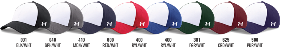 Custom Under Armour Hats - Blocked Blitzing