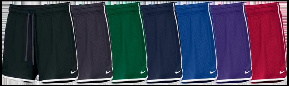Custom Nike Women's Drill Mesh Shorts